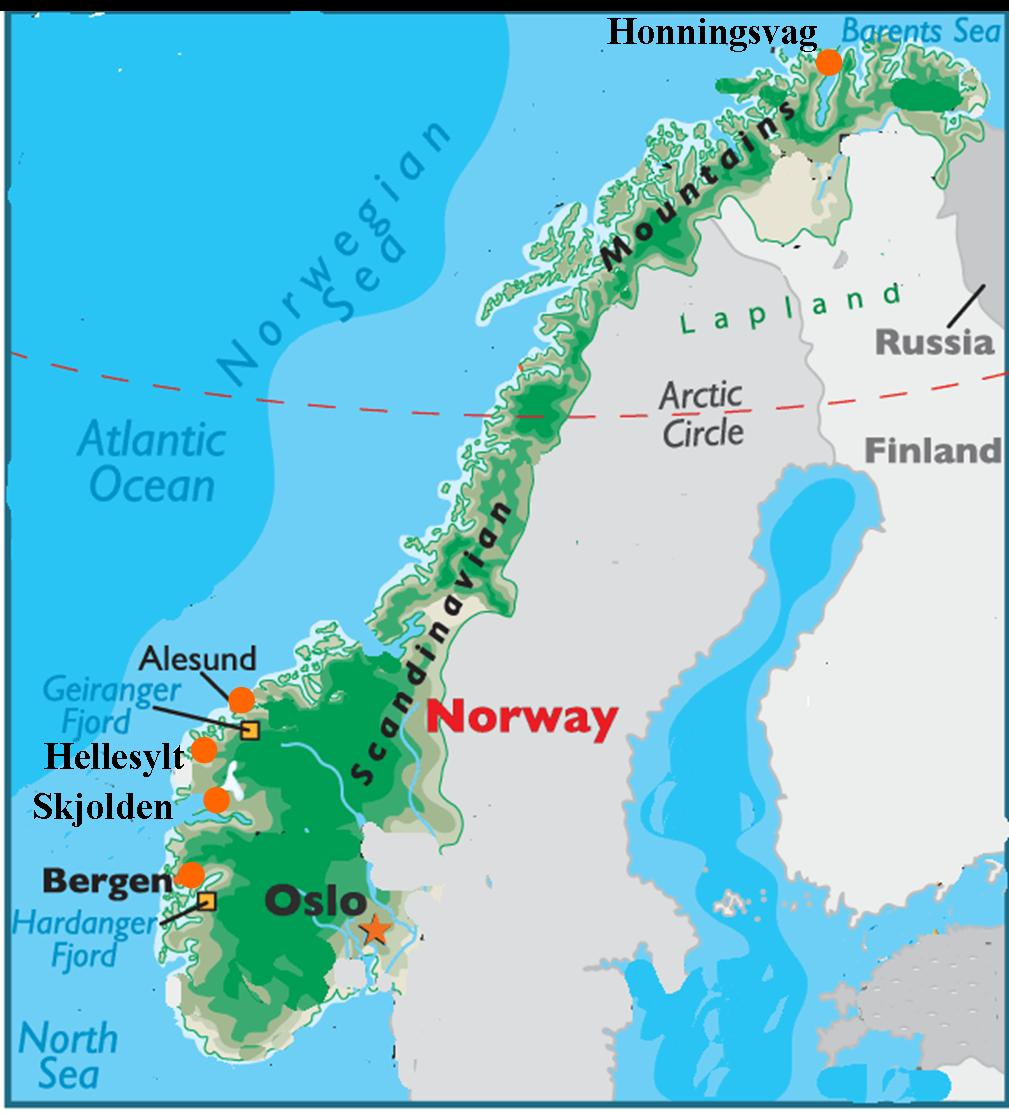 Mike Heller S Web Page Norway Artic Cruise July 2011